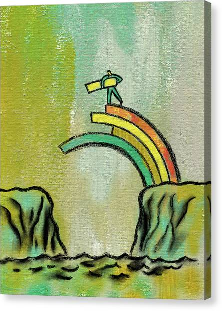 Improve Canvas Print - Strategy For Success by Leon Zernitsky