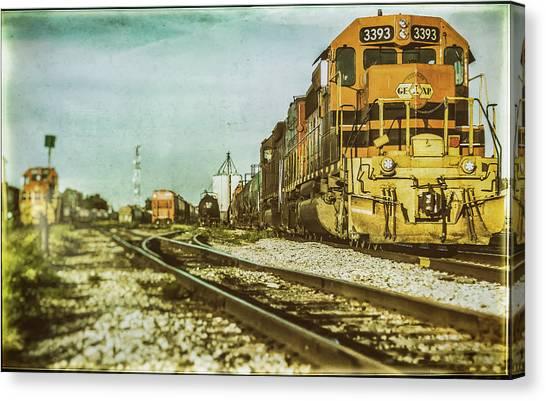 Stratford Rail Yard 2016 Canvas Print