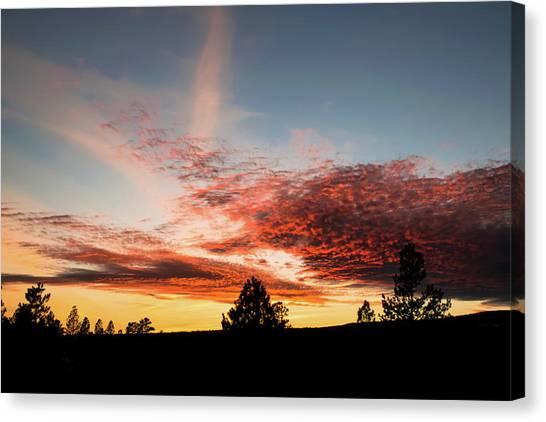 Stratocumulus Sunset Canvas Print