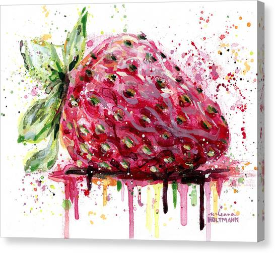 Strawberry 2 Canvas Print