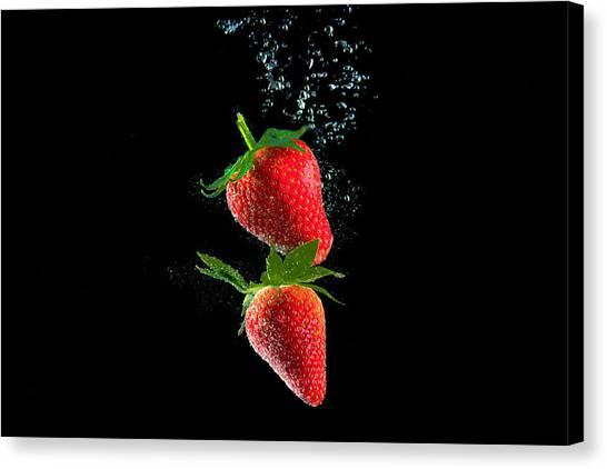 Strawberry Falls Canvas Print