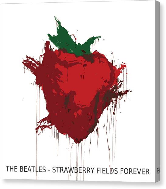 Strawberry Fields Forever  Canvas Print by Koichi Endo