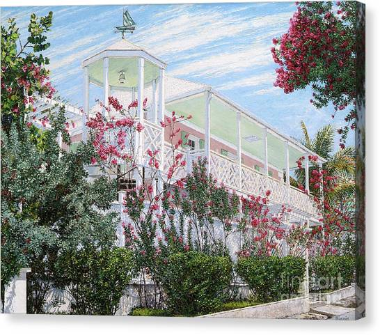 Strawberry House Canvas Print