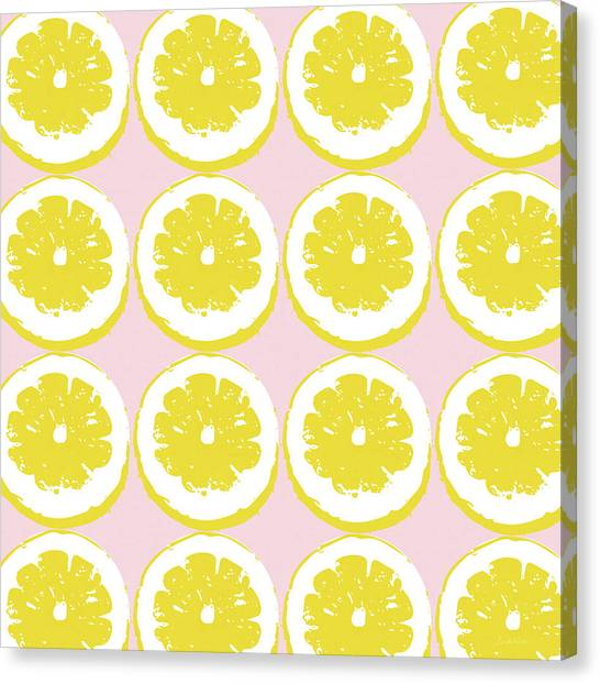 Strawberry Canvas Print - Strawberry Lemonade- Art By Linda Woods by Linda Woods
