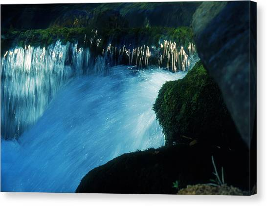 Stream 6 Canvas Print