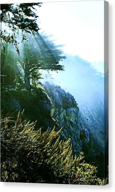 Streams Of Light Canvas Print