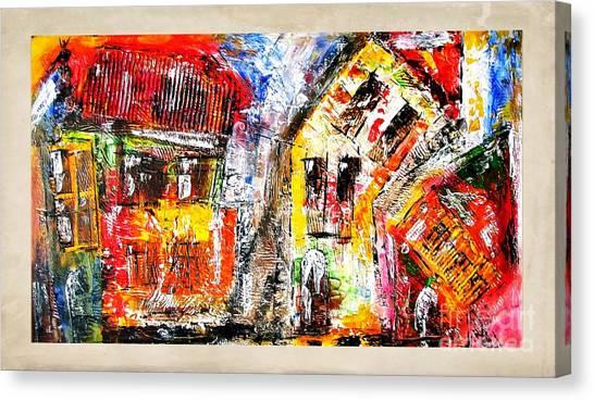 Street 3970 Canvas Print