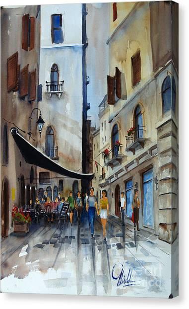 Taverna D' Strada Canvas Print