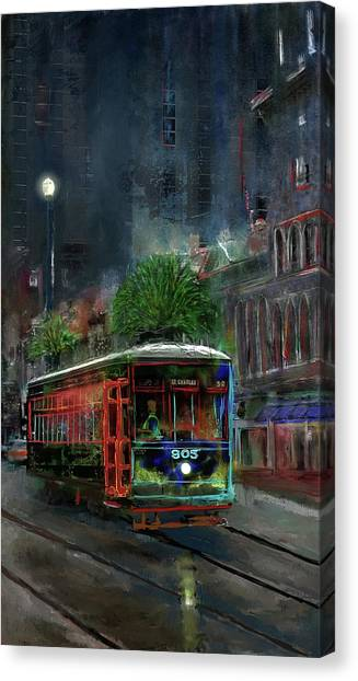 Street Car 905 Canvas Print