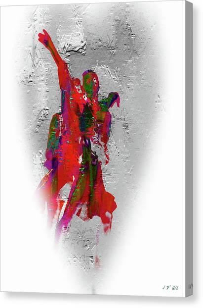 Street Dance 8 Canvas Print