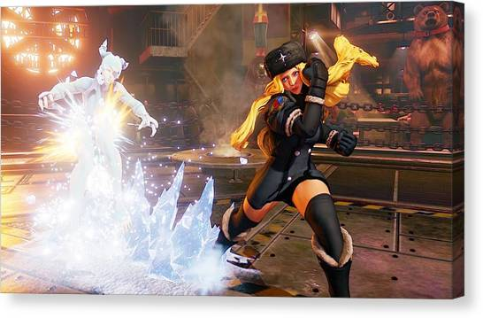 Street Fighter Canvas Print - Street Fighter V by Super Lovely