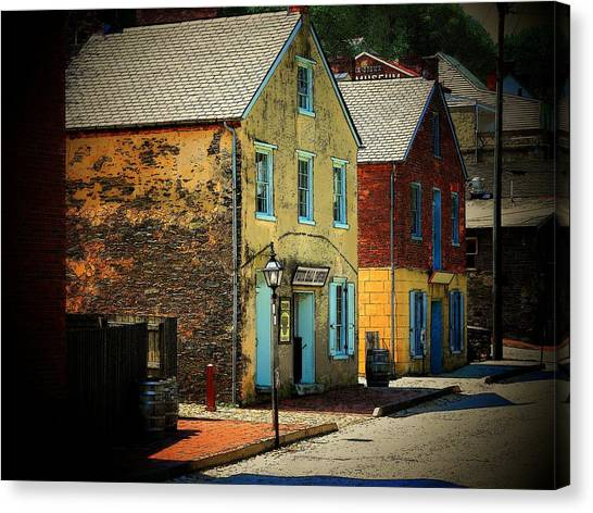 Street In Harper's Ferry Canvas Print