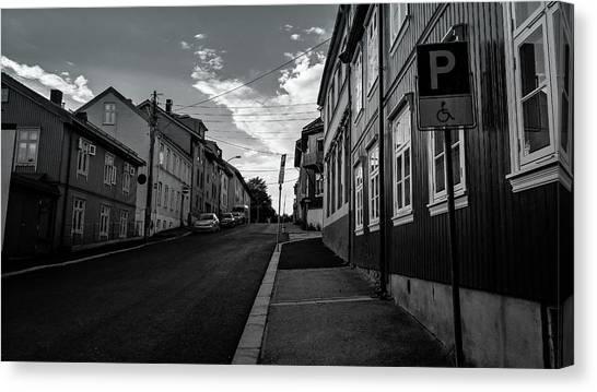 Street In Toyen Canvas Print