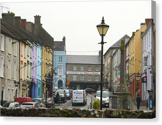 Streets Of Cahir Canvas Print