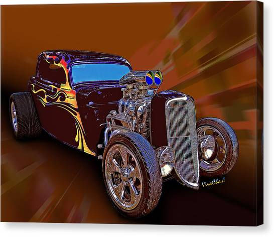 Street Rod What Is It Canvas Print