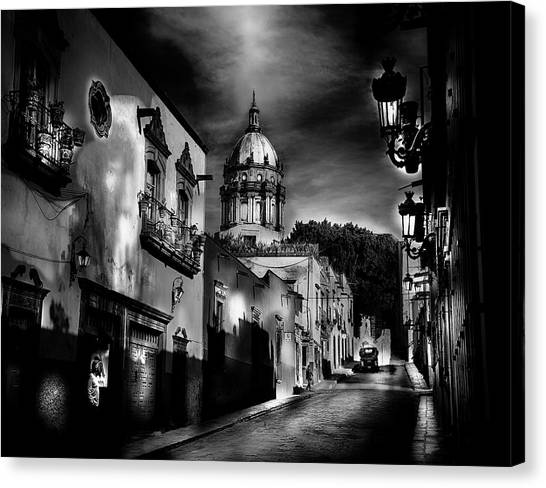 Street To The Nun's Church Canvas Print