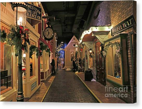 Streets Of Old Milwaukee Canvas Print