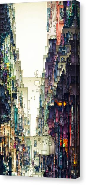 Streetscape 1 Canvas Print