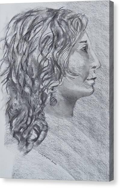 Strength Of Forward Vision Canvas Print