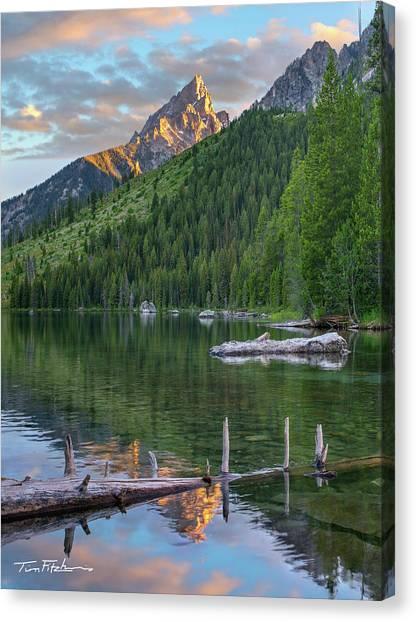 String Lake Canvas Print