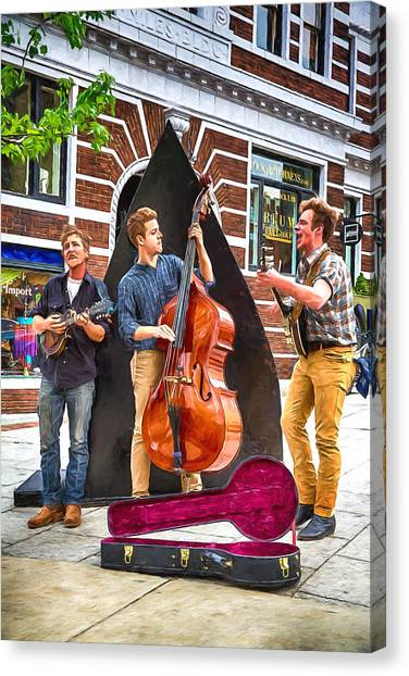 String Trio Canvas Print