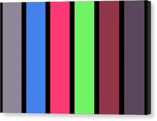 Stripe - Zentao Canvas Print
