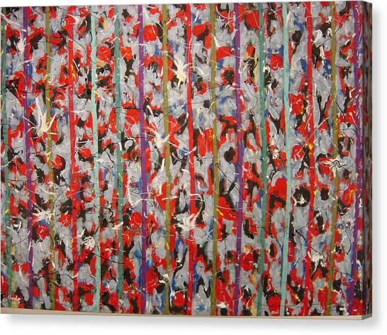 Striped Canvas Print by Biagio Civale