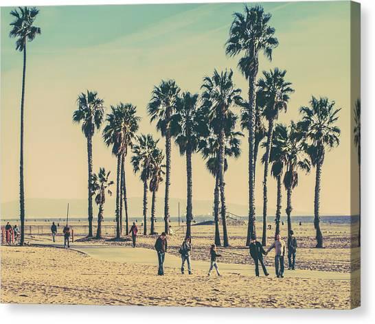 Lifeguard Canvas Print - Stroll Down Venice Beach by Az Jackson