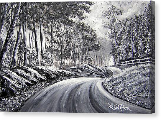 Strollling Down Old Rapidan Road Canvas Print