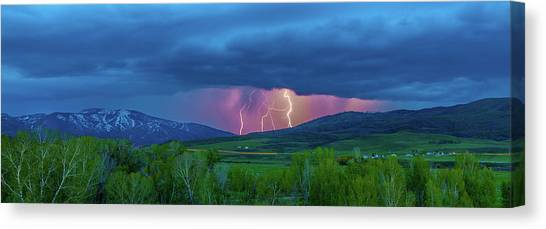 Storm Peak  Canvas Print