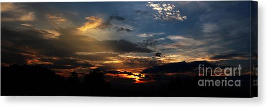 Jft Canvas Print - Struggling Sun by James F Towne
