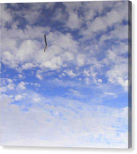 Stuck In The Clouds Canvas Print