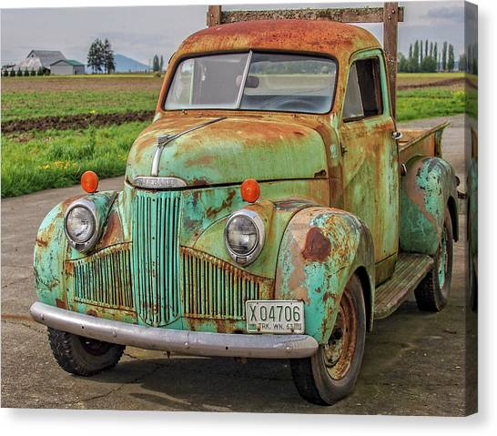 Studebaker '47 M-5 Coupe Express Canvas Print