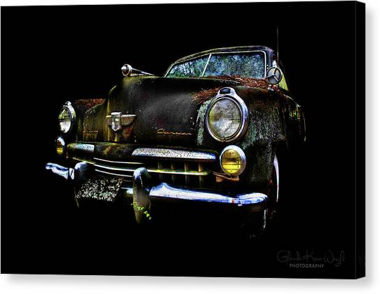 Canvas Print featuring the photograph Studebaker by Glenda Wright