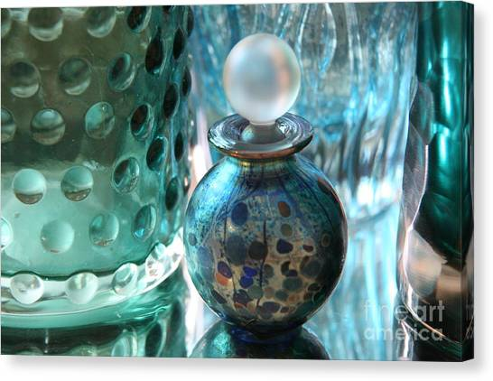 Decorative Glass Canvas Print   Studies In Glass ...murano By Lynn England