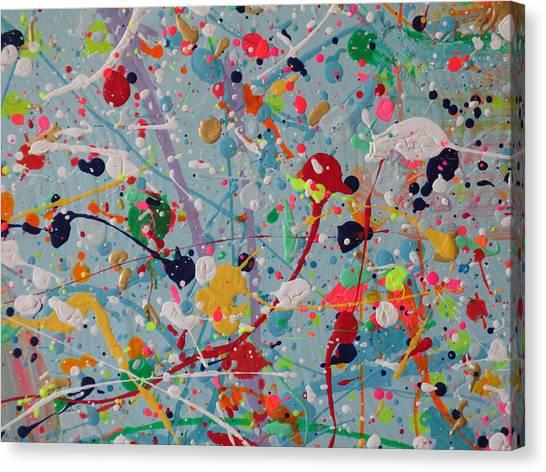 Studio Wall - Detail  Canvas Print