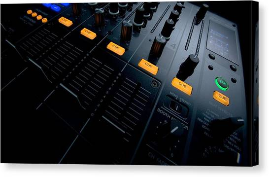 Synthesizers Canvas Print - Studio by Mariel Mcmeeking