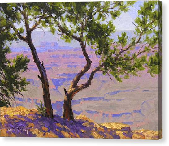Grand Canyon Canvas Print - Study For Canyon Portal by Cody DeLong