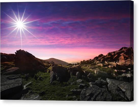 Contemporary Art Canvas Print - Stunning Landscape by Contemporary Art