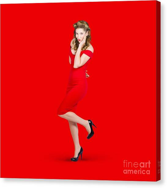 Pin-up Girl Canvas Prints (Page #3 of 81) | Fine Art America