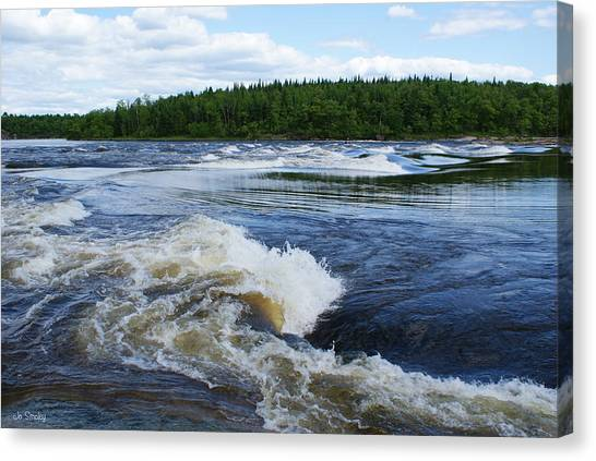 Sturgeon Falls Manitoba Canvas Print