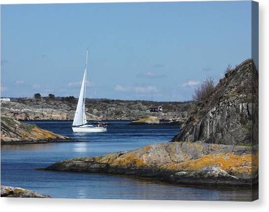 Styrso, Sweden Canvas Print