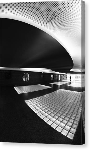 Airports Canvas Print - Subhuman by Paulo Abrantes