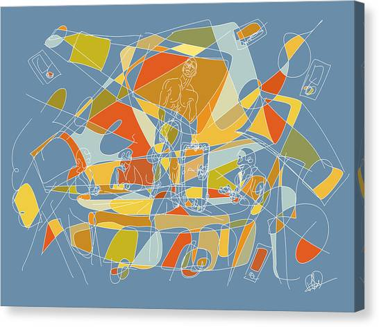 Subjection Of Privacy Canvas Print by Hal Nymen