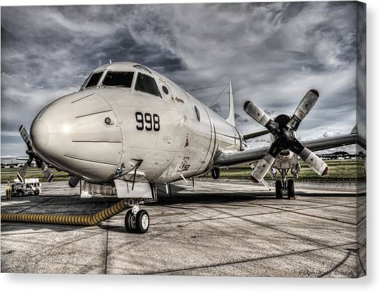 Submarine Hunter Canvas Print