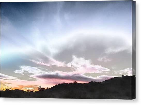 Submarine In The Sky Canvas Print