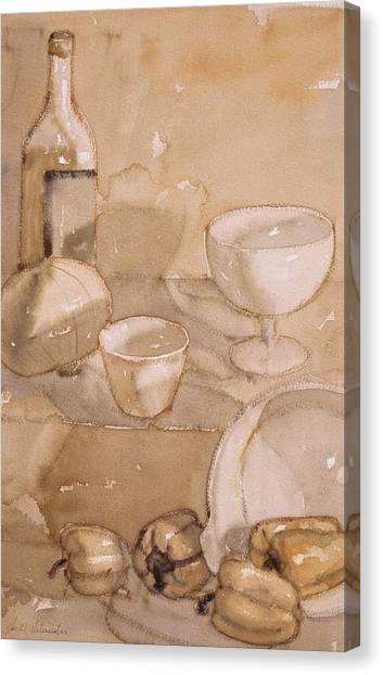 Subtle Still Life Canvas Print