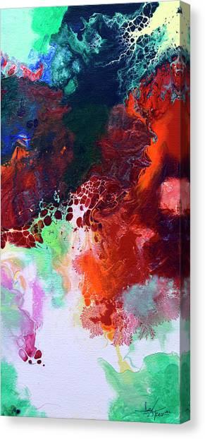 Subtle Vibrations, Canvas Five Of Five Canvas Print