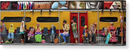 Subway - Lonely Travellers Canvas Print