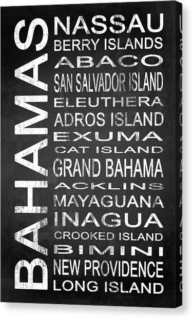 Eleuthera Art Canvas Print - Subway Bahamas 1 by Melissa Smith